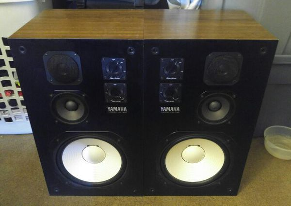 VINTAGE YAMAHA NS-344 HOME STEREO SPEAKERS FOR SALE!!! for
