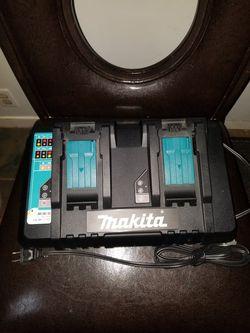 Brand New Makita 2 battery charger 18 volts Thumbnail