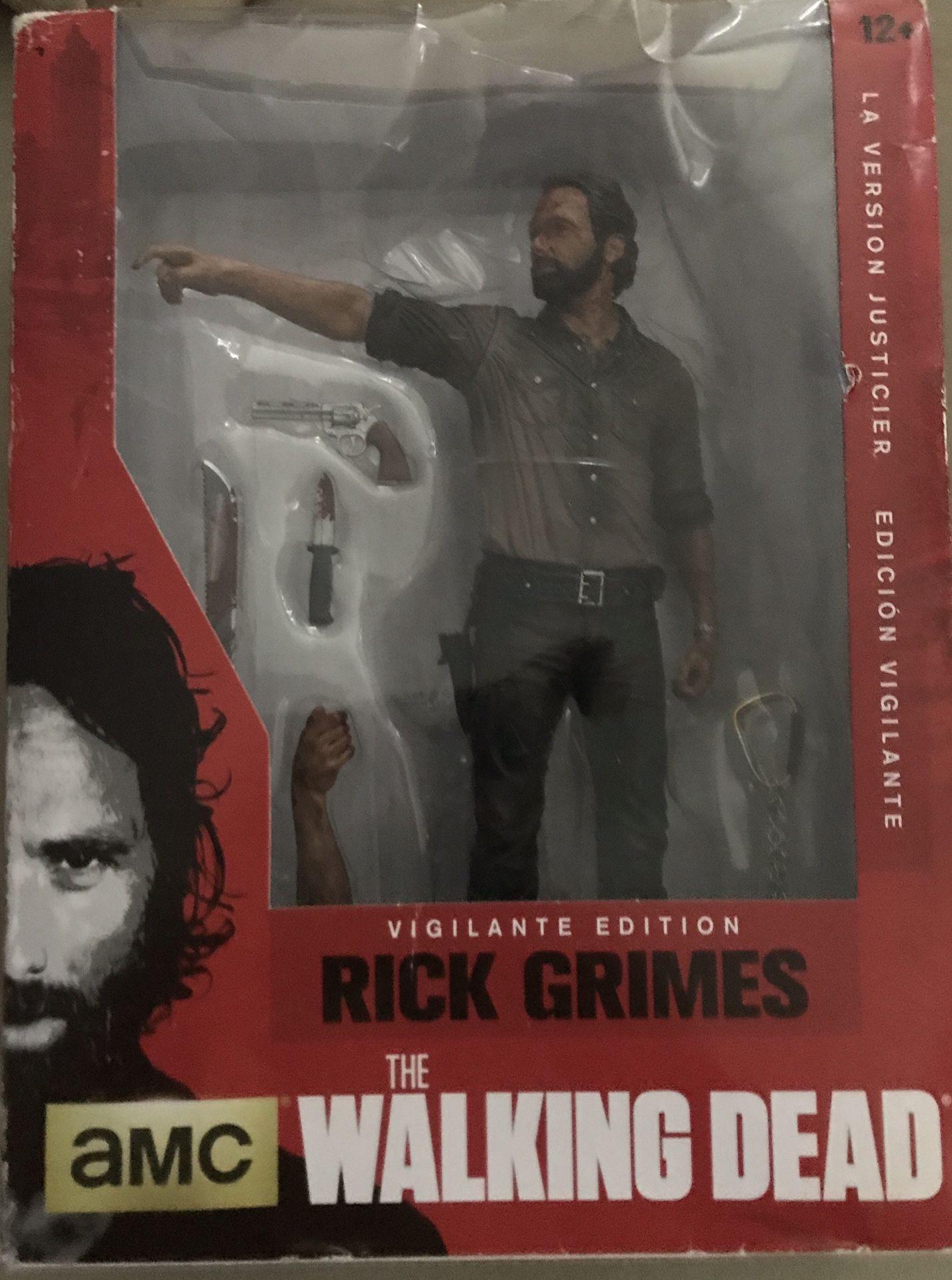 AMC TV Series Vigilante Edition Rick Grimes Figurine