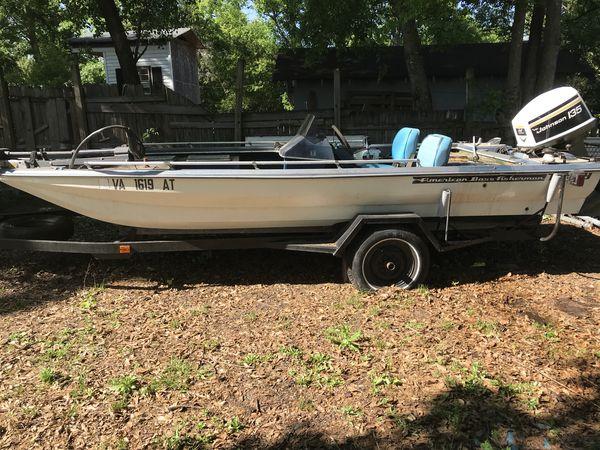 1995 american bass boat