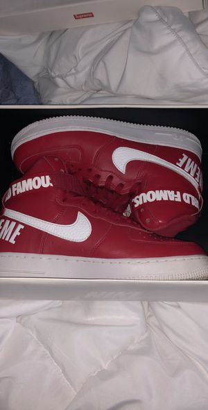 Photo Nike supreme Air Force 1