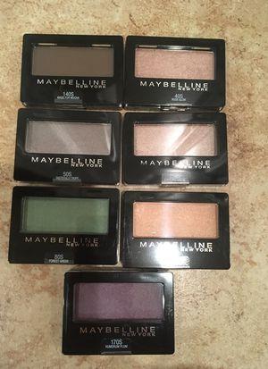 Maybelline Expert Wear eyeshadows for Sale in Alexandria, VA