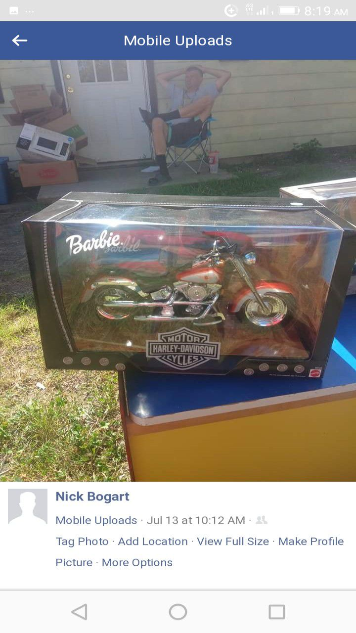 Limited edition Barbie Harley Davidson