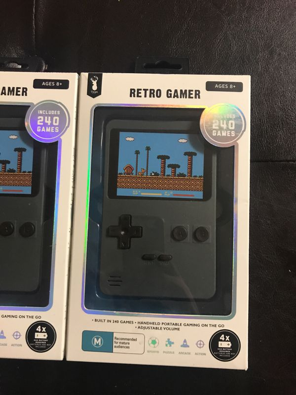 New Typo Retro Gamer includes 240 games portable $50 MSRP for Sale in Union  City, CA - OfferUp