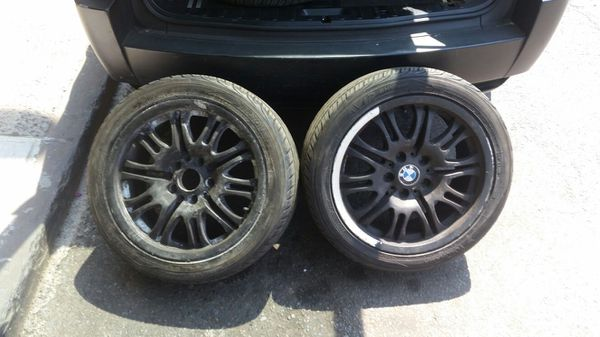 E46 5120 17 Style 67 Reps Curbed Without Tires 125 For Sale In New