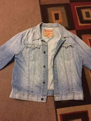 True religion jean jacket for Sale in Temple Hills, MD
