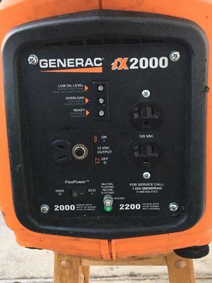 GENERAC IT2000 Inverter generator for Sale in Orlando, FL