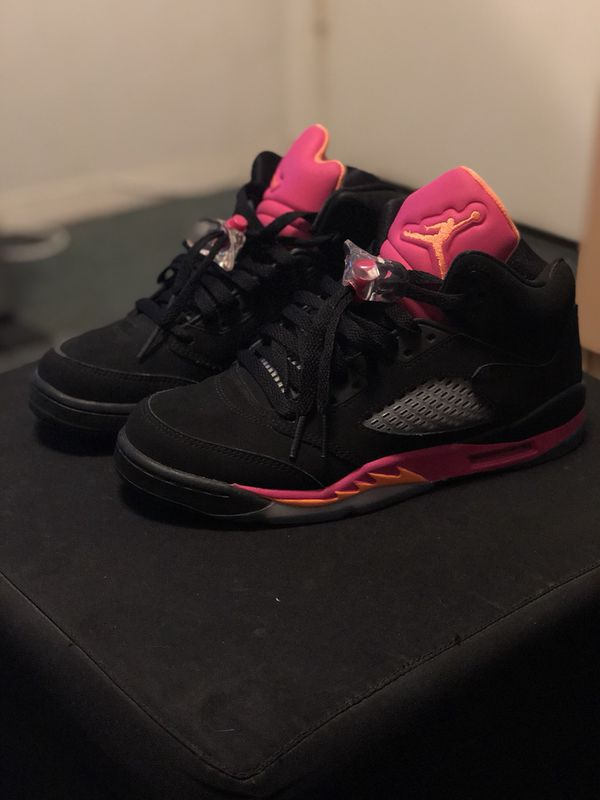 the best attitude 7f21d b4135 GIRLS AIR JORDAN 5 RETRO (GS)