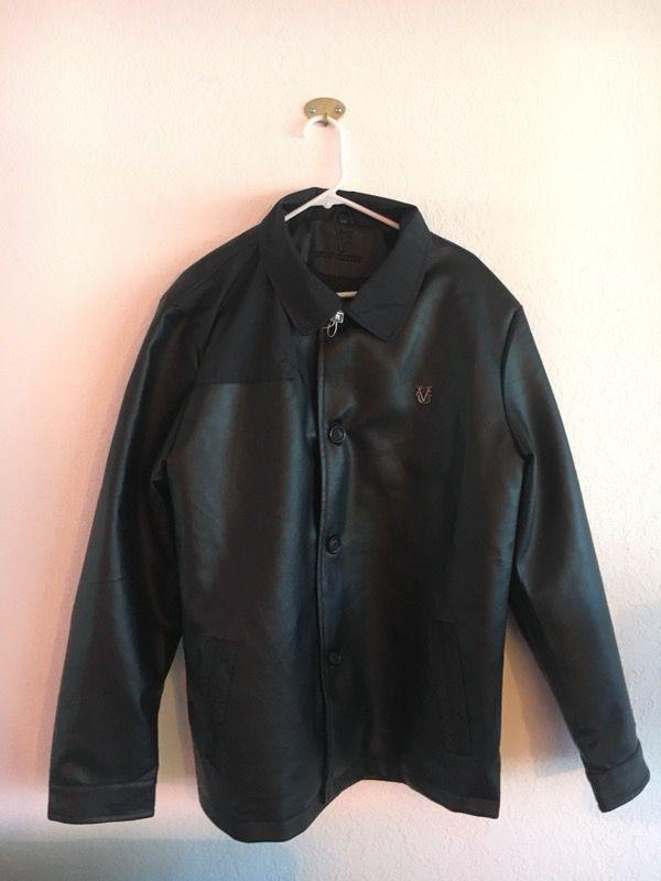 2ac65572705 Black Faux Leather Jacket