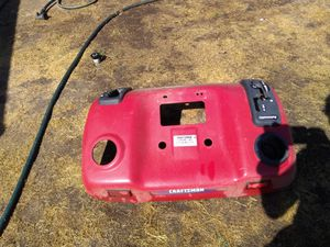Craftsman rear seat support and fender well for Craftsman DGT6000 automatic riding lawn mower for Sale in Visalia, CA