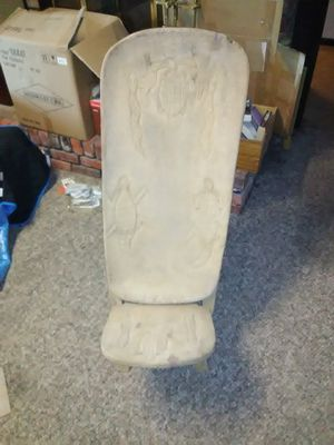 Hand Carved African Tribal Chair for Sale in Raleigh, NC
