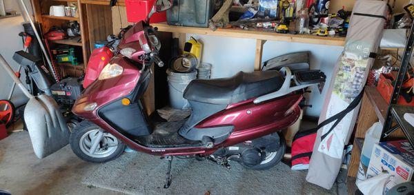 2008 jonway/shanghai 150cc scooter