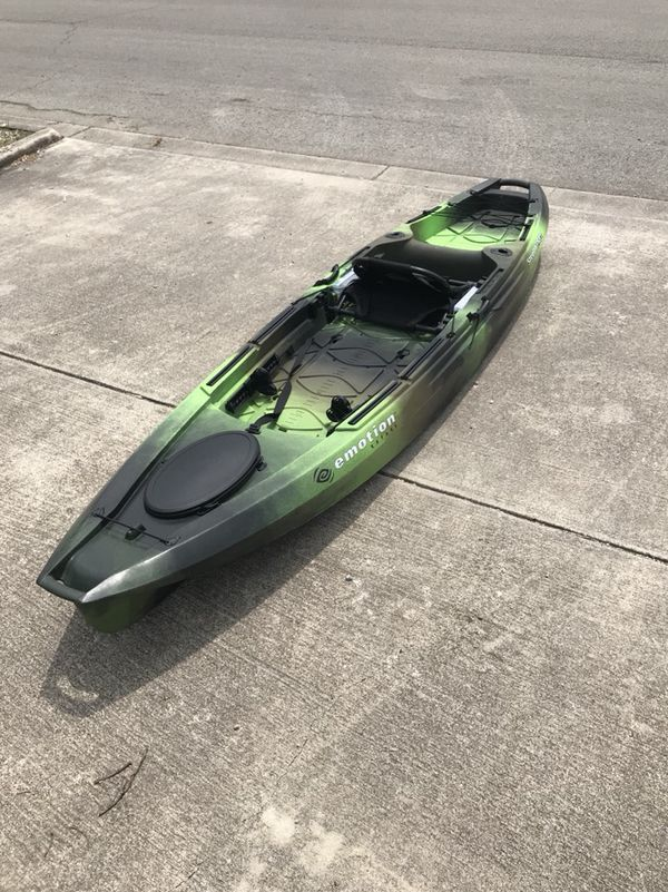Emotion Stealth Pro Angler 12 Kayak For Sale In New