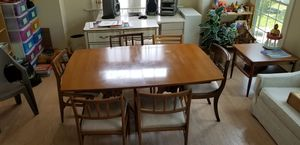 Mid Century Modern dining table set for Sale in Gaithersburg, MD