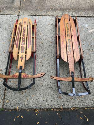 Vintage sleds for Sale in Centreville, VA