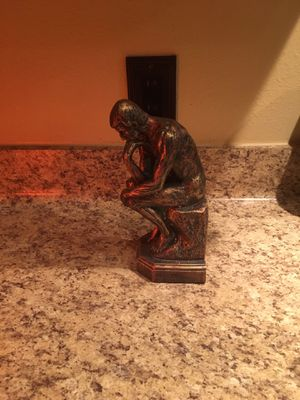 The Thinker Statue - Decor for Sale in Houston, TX