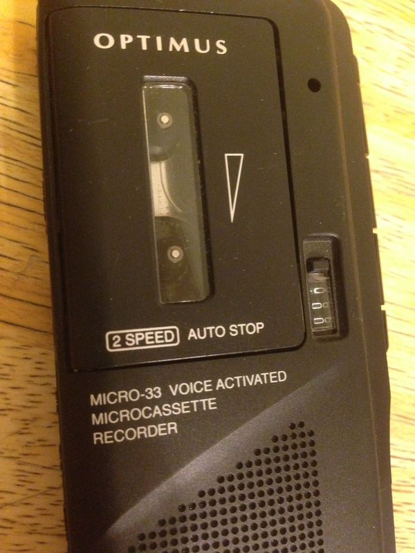 Optimus micro33 voice activated recorder for Sale in Wickenburg, AZ -  OfferUp