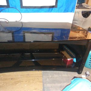 Glass Tv Stand for Sale in Puyallup, WA