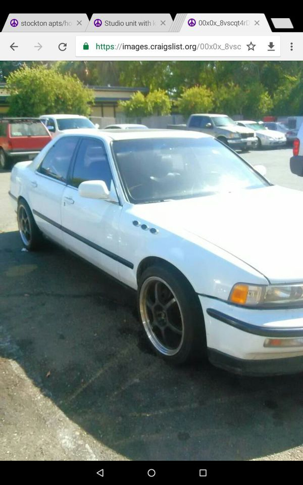 91 Acura Legend Mechanics Special 650 Obo For Sale In Stockton Ca