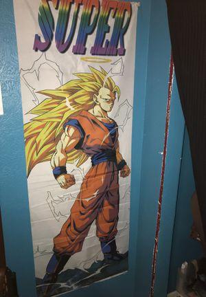 Stage three goku. Human size banner! for Sale in Orlando, FL