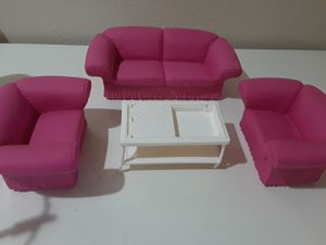 Barbie living room furniture for Sale in Las Vegas, NV