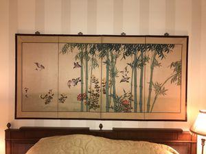 Asian silk print for Sale in Fairfax Station, VA