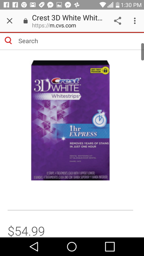 Crest whiteing strips $55 in store for Sale in West Palm Beach, FL - OfferUp