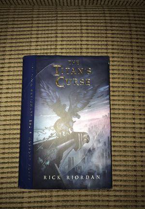 The Titan's Curse by Rick Riordan for Sale in Laveen Village, AZ