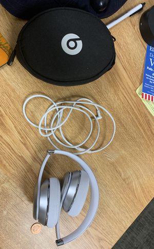 Beats Solo3s Silver Wireless for Sale in Fairfax, VA