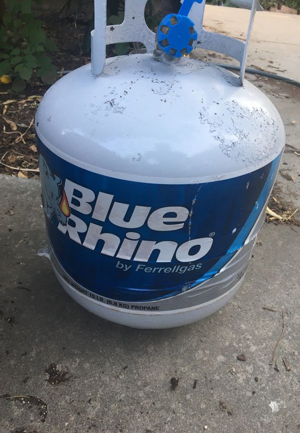 Full Certified Blue Rhino Propane Tank For Bbq For Sale In San