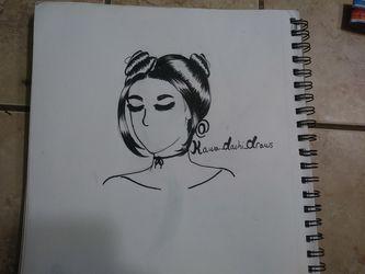 Drawing of a girl Thumbnail