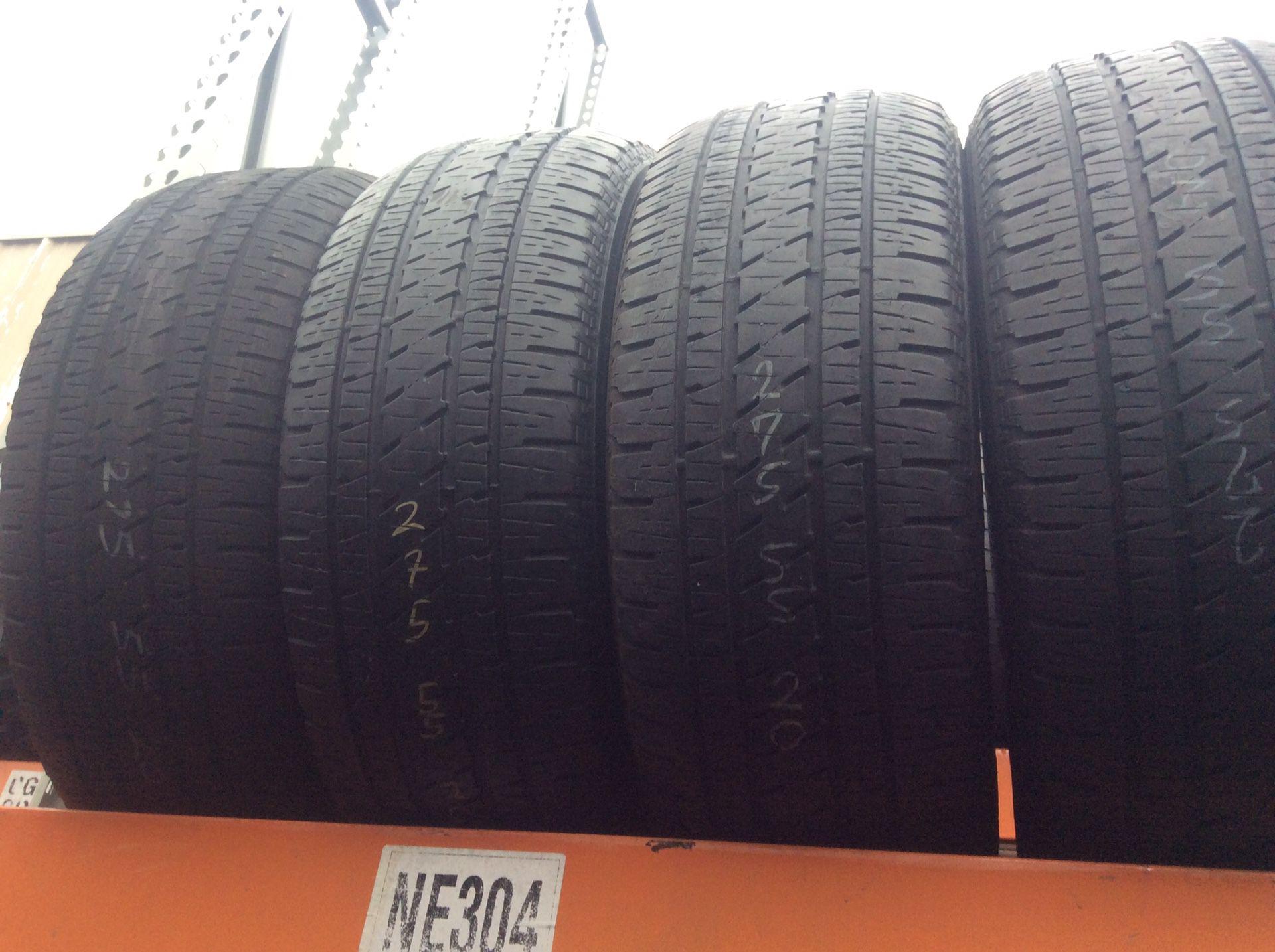 275 55 20 Bridgestone