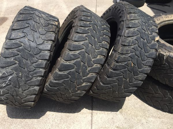 Used Mud Tires For Sale >> Used Mud Tires Toyo 37 1350 20 For Sale In Mesquite Tx Offerup