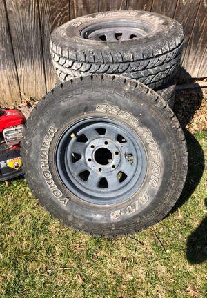 Photo Yokohama tires on Chevy 6 lug wheels