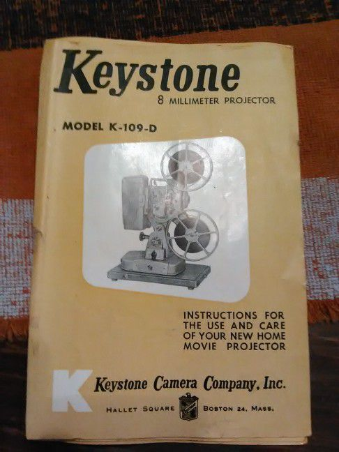 Keystone Super 8mm Vintage Projector for Sale in Orlando, FL - OfferUp