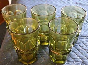 Vintage Antique Fostoria Argus Green Glassware For Sale In Santa Clarita Ca
