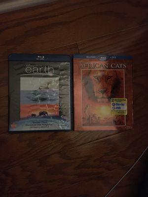 2 Disney Nature Blu-ray DVD sets for Sale in Garner, NC