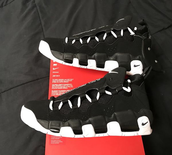 d71054dffd8 Nike Air More Money Uptempo Mens Size 9.5 Basketball Shoes NEW DS ...