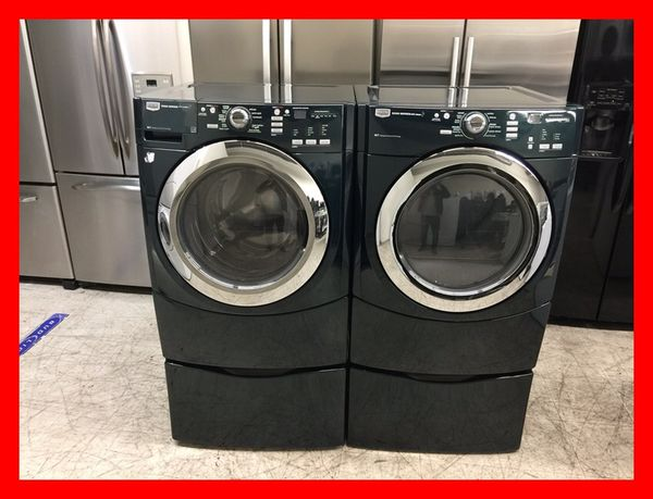 Maytag 5000 Series Steam Front Load Washer And Electric