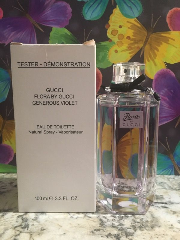 82e0787f398 Gucci Flora Generous violet 3.3 oz for Sale in Pico Rivera