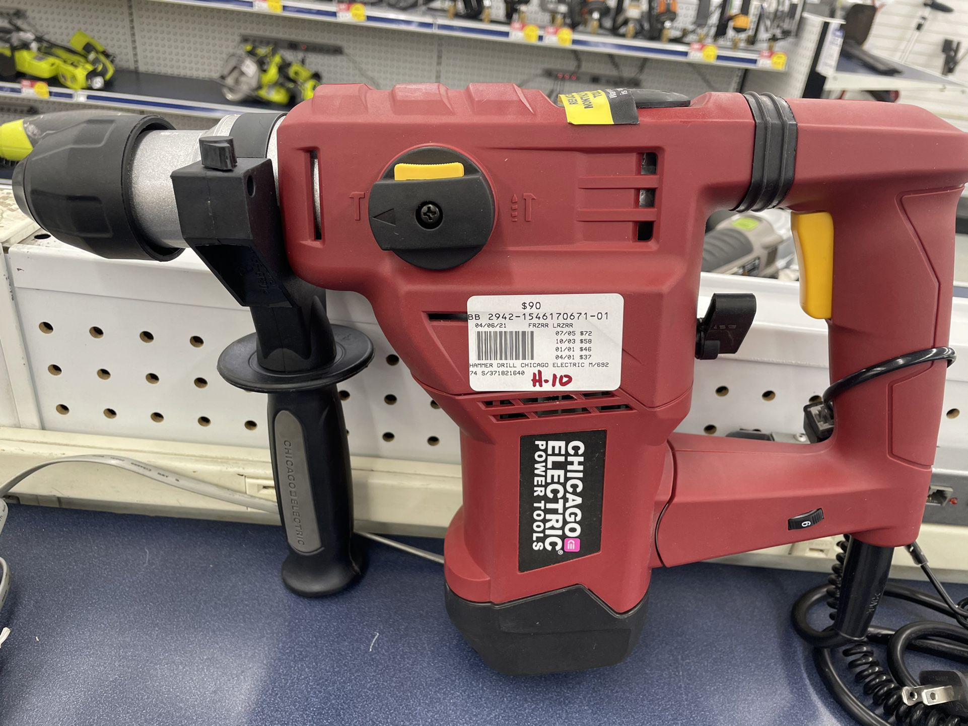 Rotary Hammer  Chicago electric
