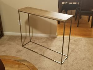 West Elm Streamline Console Table for Sale in Waldorf, MD