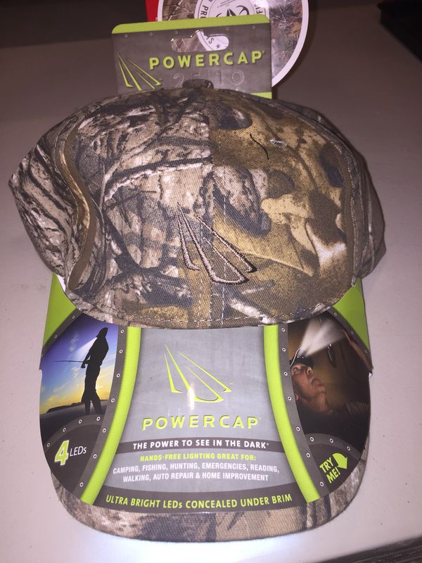 1b1acac667115 NEW POWERCAP 25 10 Structured Camo Blaze LED Lighted Hat for Sale in Brea
