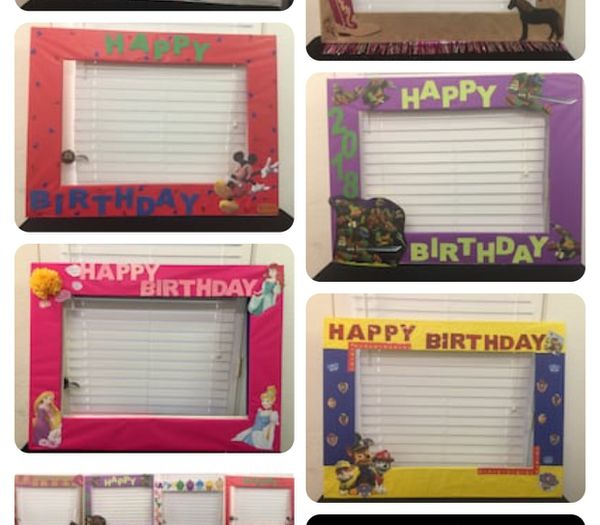 Party Photo Frames Very Big For Sale In Modesto Ca Offerup