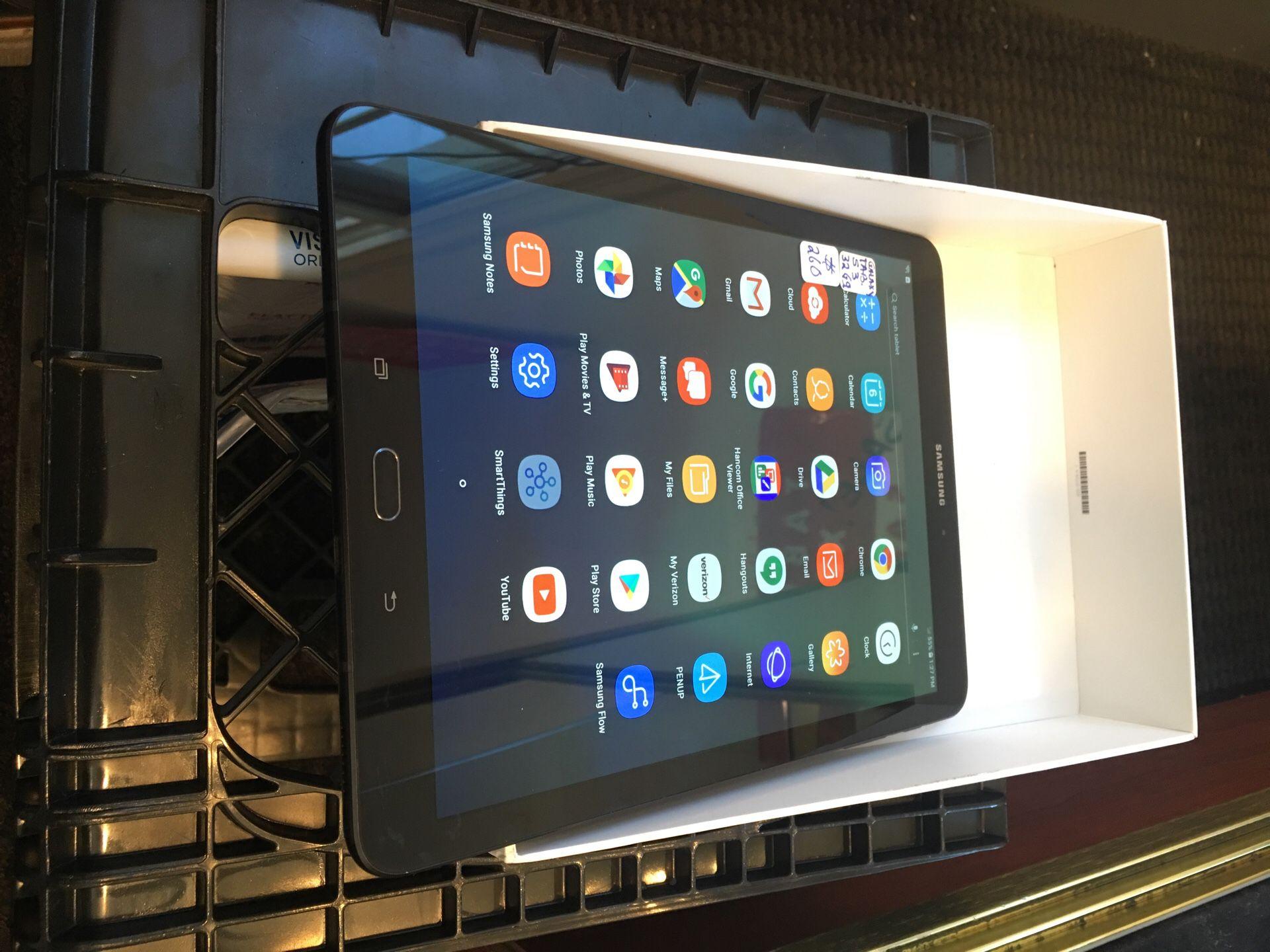 Samsung tablet s3 32gb