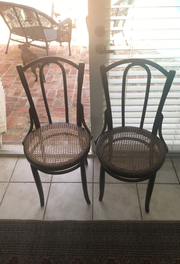 - 2 Antique Cane Chairs (Antiques) In South Miami, FL - OfferUp