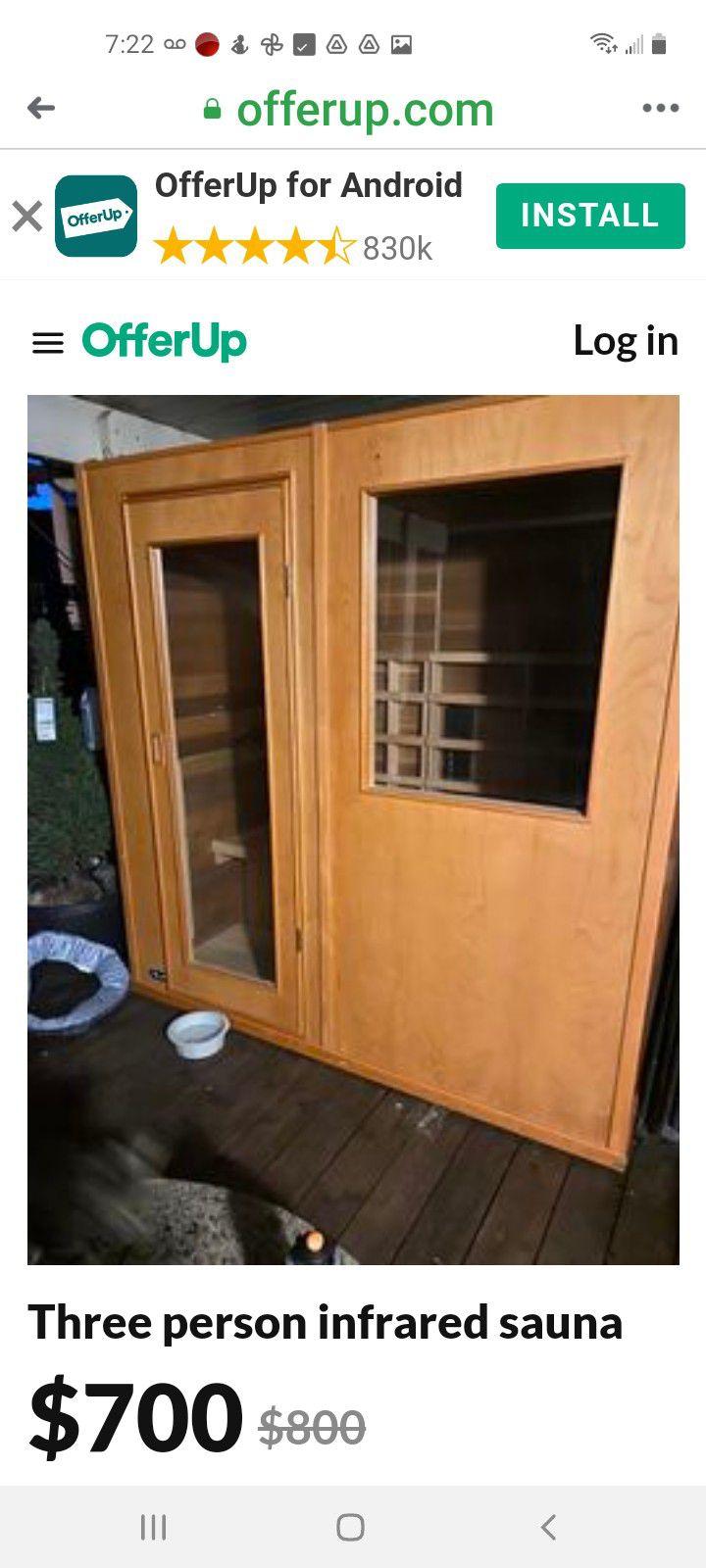 3 Person Infared Sauna
