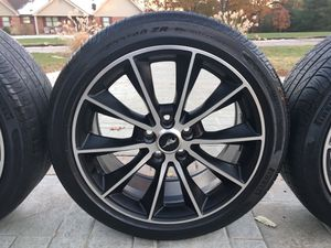 "19"" Mustang GT Wheels & Tires **Excellent Condition** for Sale in Barnhart, MO"