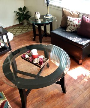 Round Coffee & Side Tables Set for Sale in Fairfax, VA