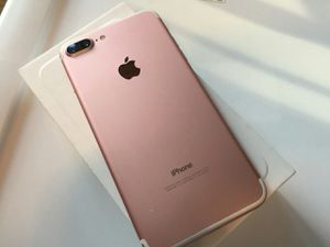 IPhone 7 plus , UNLOCKED . Excellent Condition ( as like New) for Sale in Springfield, VA
